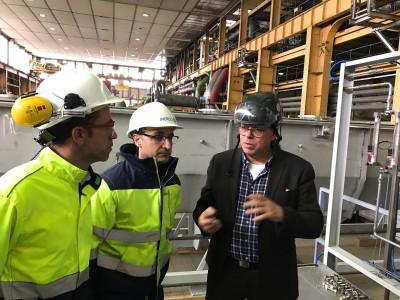 Visita INERCO planta SaltX Berlin