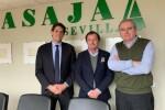 Federación Arroceros con Eduardo Martín Asaja Sevilla
